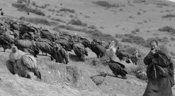 Sky burial au pays Kham.