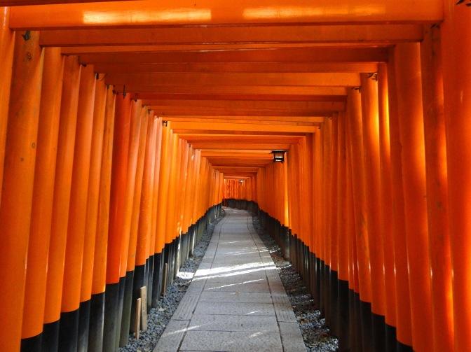 Kyoto, la ville aux mille temples.