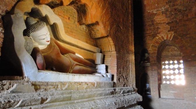Les temples de Bagan.