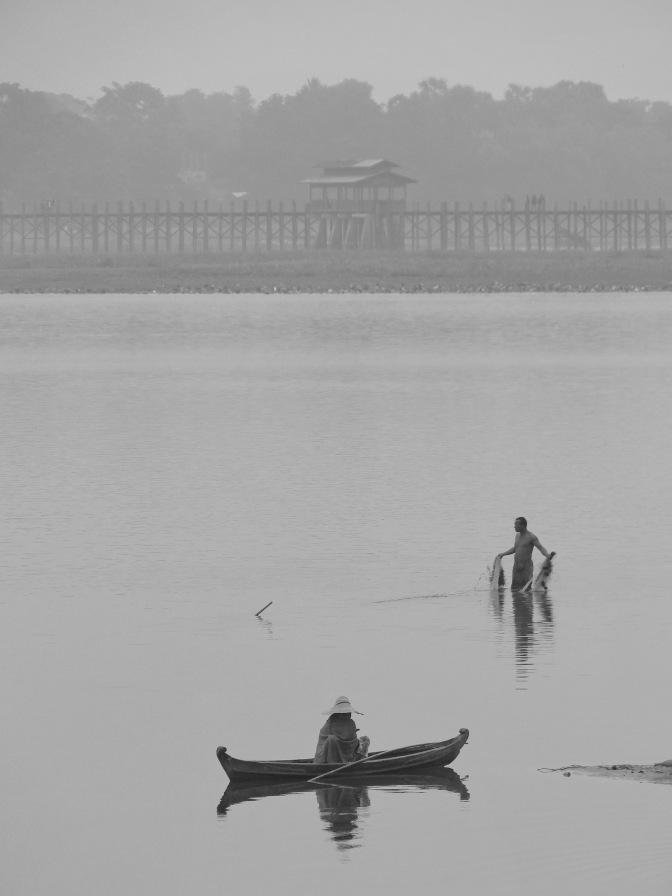 Mandalay et le pont d'U Bein.