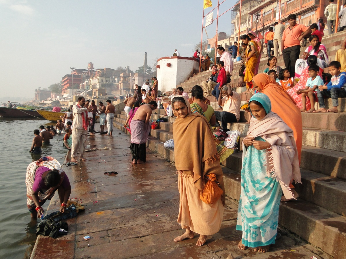 Varanasi et le festival de Holi.