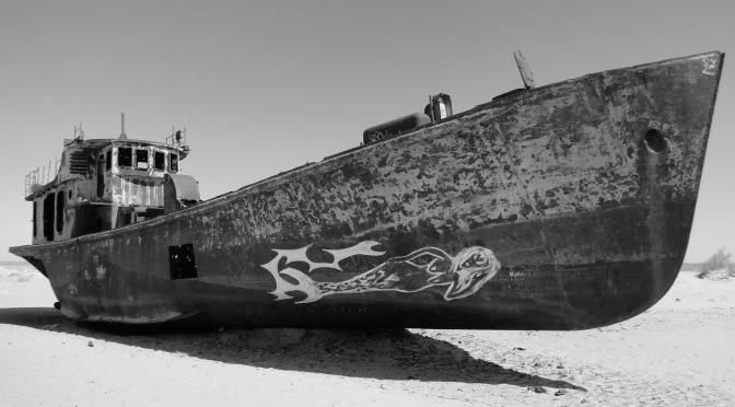 Le desert d'Aral.